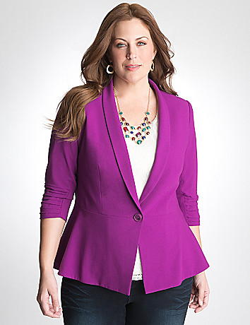 Shawl collar blazer by DKNY JEANS