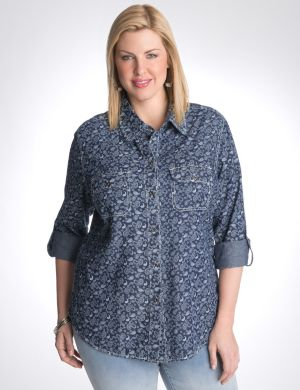 Paisley shirt by Seven7