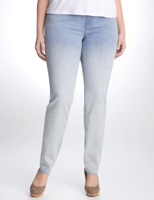 Ombre sateen jegging by Seven7