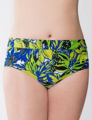 Beach Basics floral swim hipster