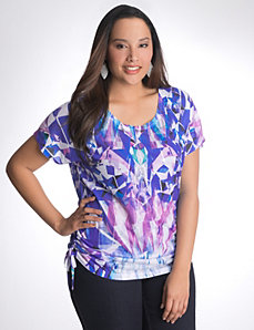 Full Figure Kaleidoscope sequin tee