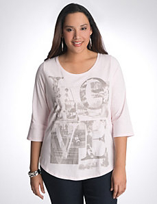 Plus Size Graphic Tee by Lane Bryant