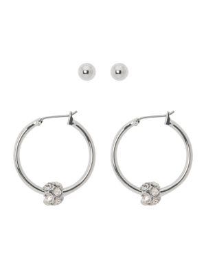 Stud & hoop earring duo by Lane Bryant