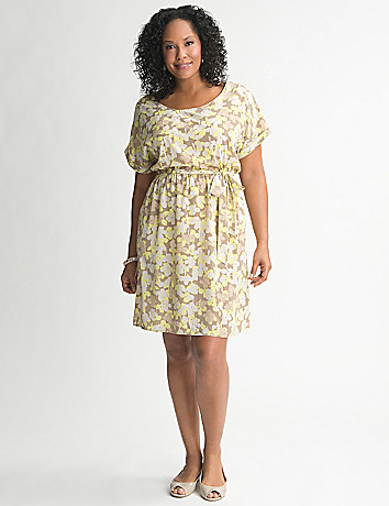 Floral Tee Dress by Lane Bryant