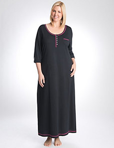Roll sleeve sleep maxi