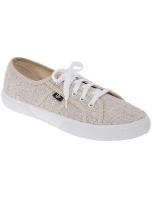 LB Kicks linen sneaker