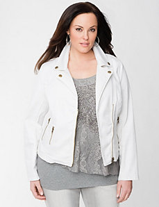 Lane Collection Moto Jacket by Lane Bryant