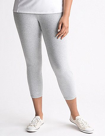 Full Figure Active Capri Legging by Lane Bryant