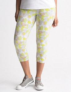 Camo capri legging by LANE BRYANT