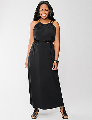 Surplice Maxi Dress by Lane Bryant
