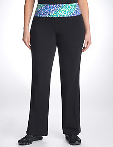 Rainbow animal active pant