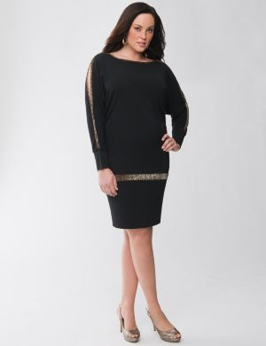 Lane Collection shimmer pop dress