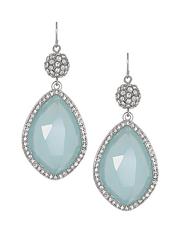 Stone Drop Earrings by Lane Bryant