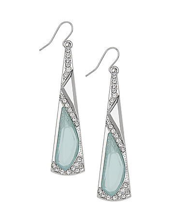 Linear Stone Earrings by Lane Bryant