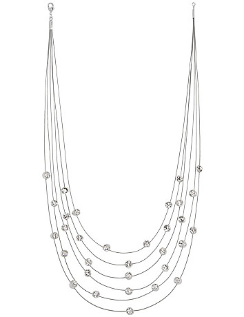 6 Row Illusion Necklace by Lane Bryant