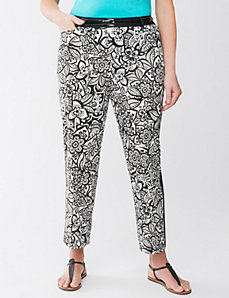 Floral ankle pant by Lane Bryant