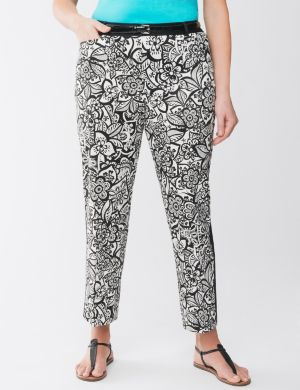 Floral ankle pant