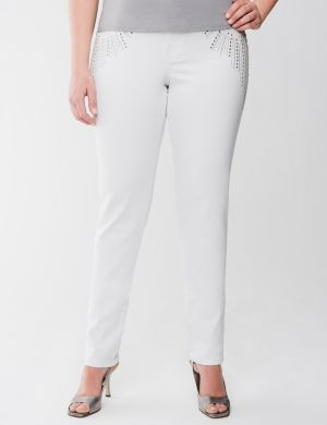 Lane Collection embellished skinny jean