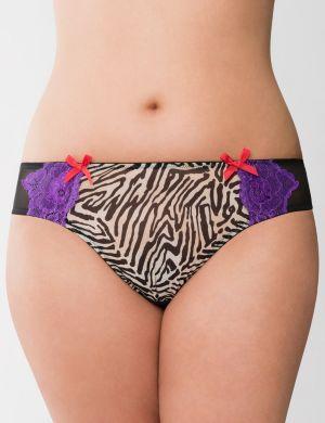 Mayan zebra tanga panty