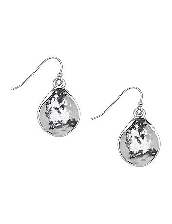 Lane Collection scoop teardrop earrings