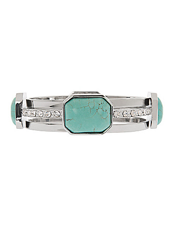 Lane Collection faux turquoise bracelet set
