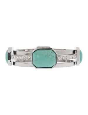 Lane Collection faux turquoise bracelet set