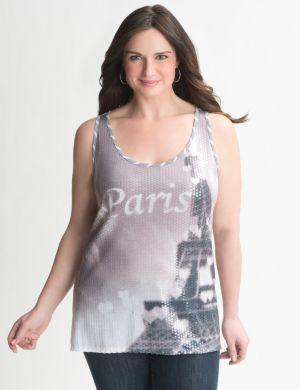 Paris sequin tank