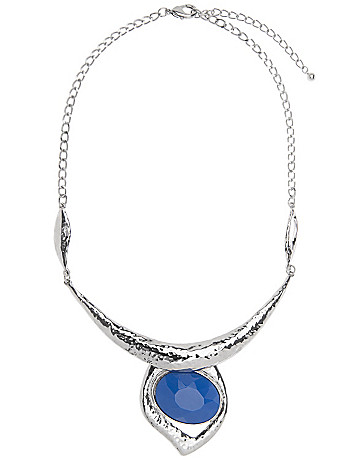 Lane Collection stone statement necklace