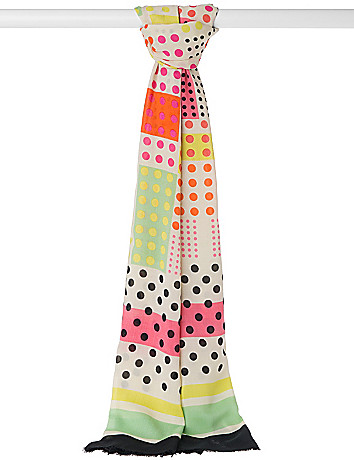 Oversized Geo Print Scarf by Lane Bryant