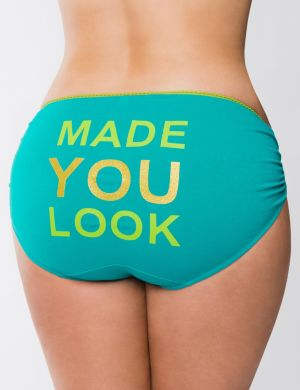 Made You Look cotton hipster panty