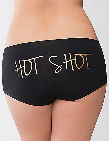 Hot Shot seamless boyshort panty