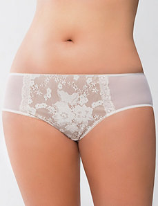 Bold lace hipster panty by LANE BRYANT