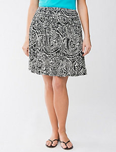 Plus Size Batik Flippy Skirt by Lane Bryant