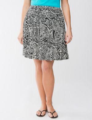 Batik flippy skirt