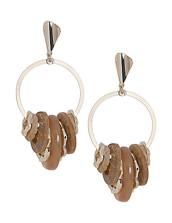 Lane Collection Multi Hoop Drop Earrings
