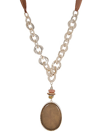 Lane Collection Agate Pendant Necklace
