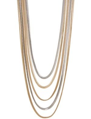 Lane Collection snake chain necklace