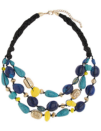 Lane Collection nested cord necklace