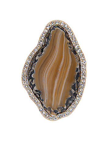 Lane Collection Agate Cocktail Ring