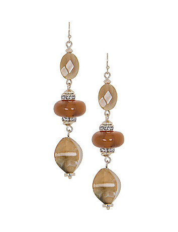 Lane Collection Bead Drop Earrings