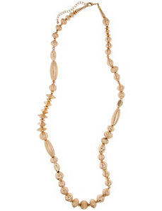 Lane Collection etched bead necklace