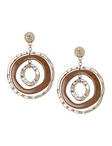 Lane Collection Triple Hoop Earrings