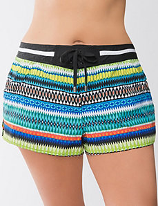 Patterned Swim Short by Cacique