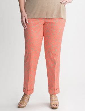 Daisy cuffed ankle pant