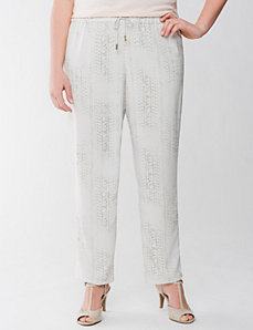Lane Collection printed pant by LANE BRYANT