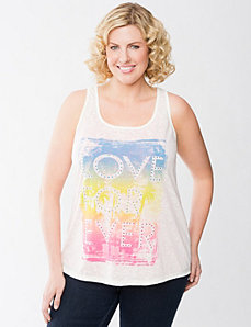 Love Forever tank by Lane Bryant