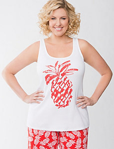 Pineapple sleep tank by Cacique