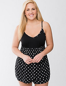 Polka dot cami PJ set by Cacique