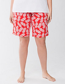 Pineapples knit sleep short by Cacique