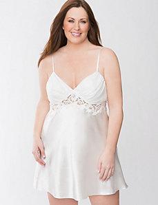 Charmeuse bridal chemise